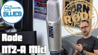 Rode NT2a Microphone Test (Voice & Guitar)