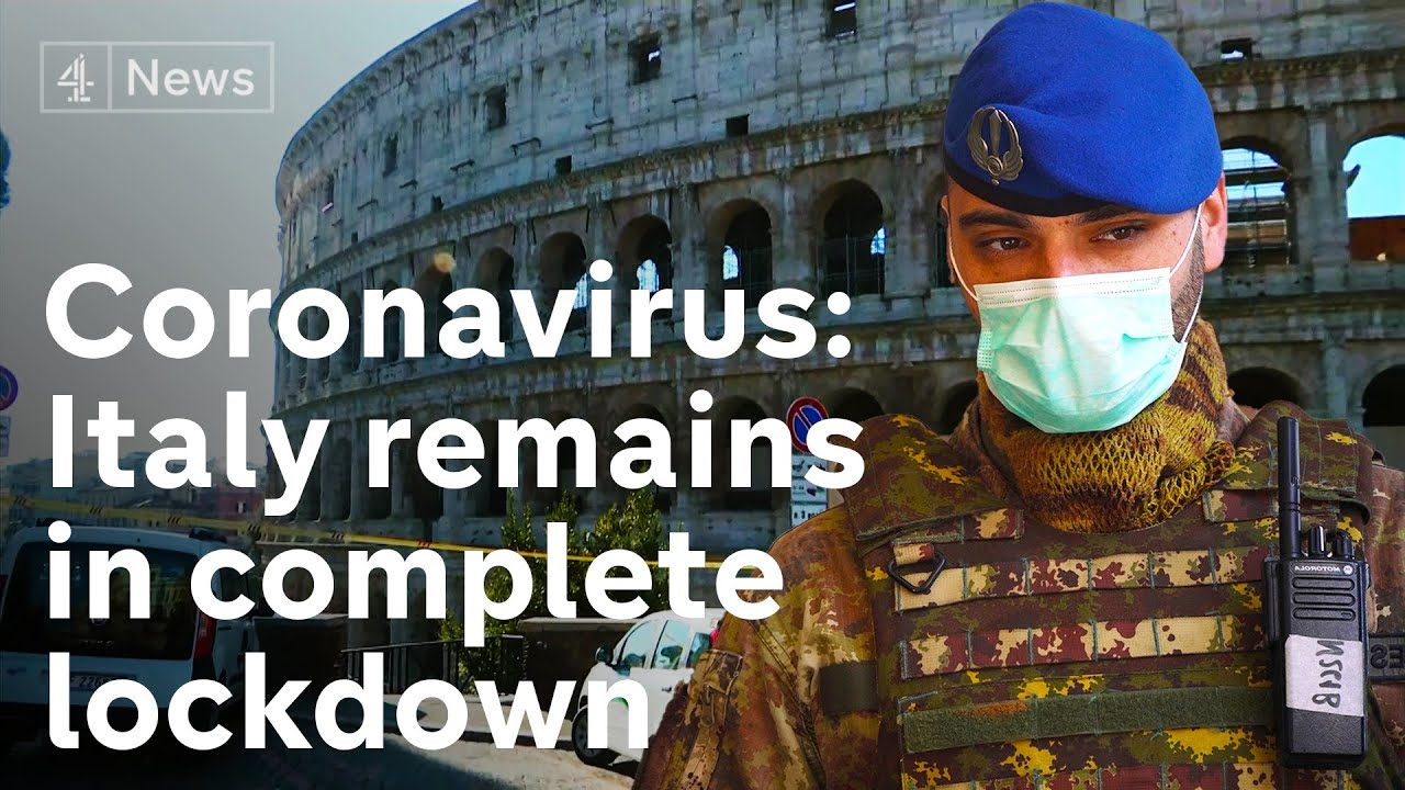 Coronavirus: Deaths jump above 600 in Italy - as country struggles with lockdown