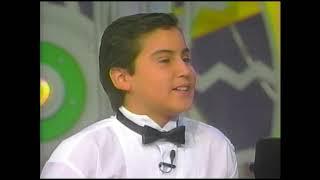 Cristian Cuevas a los 11 Años - Tico Tico
