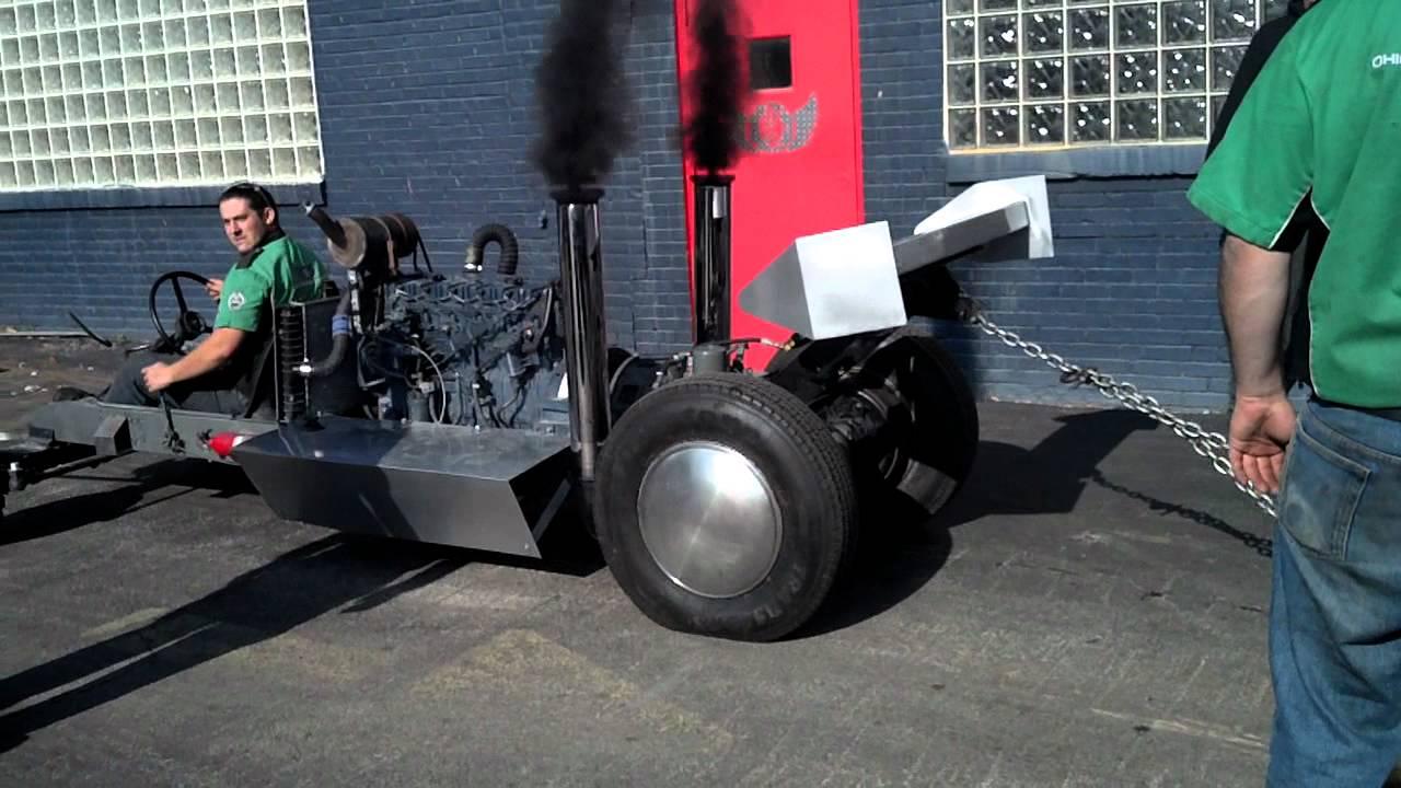 Pull Dog pulling homemade sled YouTube – Garden Tractor Pulling Sled Plans