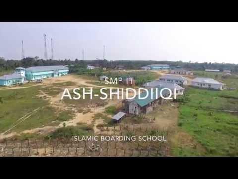Flying Over SMP IT  Ash-Shiddiiqi, Islamic Boarding School, Jambi