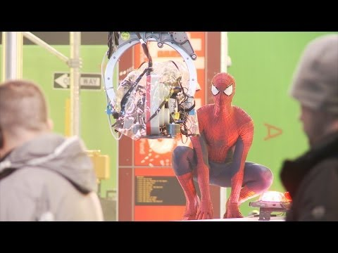 'The Amazing Spider-Man 2' Behind The Scenes