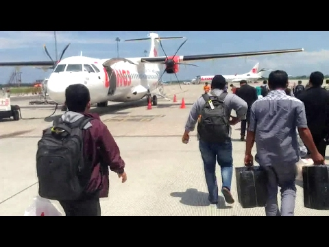 WINGS AIR IW 1252 ATR 72-600 PART 1/2 | KUALANAMU - CUT NYAK DHIEN NAGAN RAYA | Delayed Take-Off