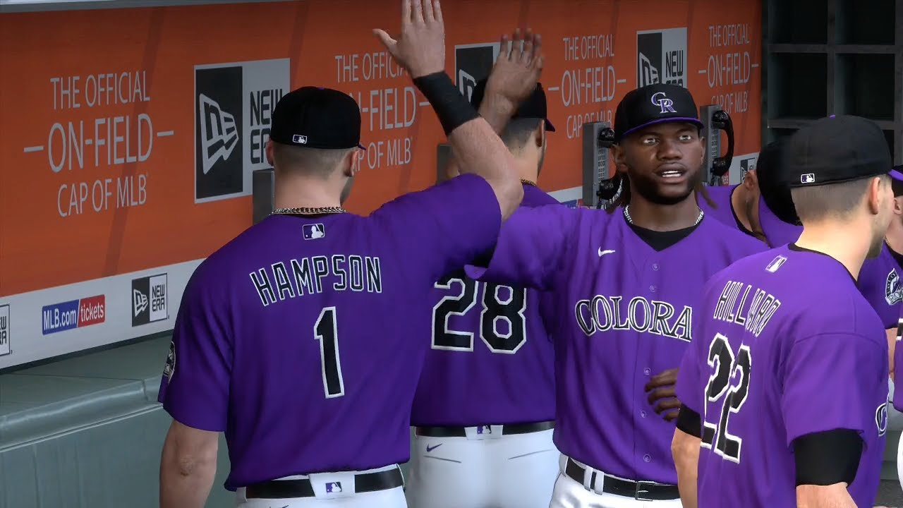 MLB The Show 20 Today | Colorado Rockies vs San Francisco Giants Full Game - 4/21/20