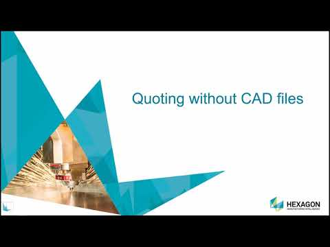 RADAN Radquote Introduction | Hexagon Production Software