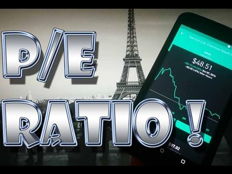 Robinhood APP - P/E Ratio - Price to Earnings Ratio Explained!