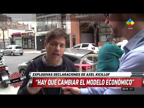 Kicillof: Hay que cambiar el programa económico