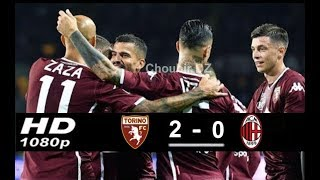 Torino FC 2 - 0 AC Milan