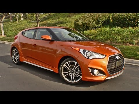 2016 Hyundai Veloster Turbo Interior and Exterior Walkaround