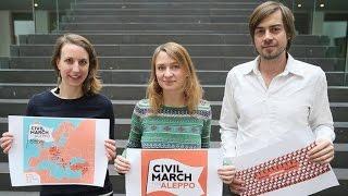نشطاء سوريون يكشفون كذب الإعلام الألماني.. لماذا انسحبوا من مسيرة أوروبية تصل برلين بحلب؟