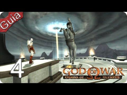 God of War Chains of Olympus HD Walkthrough parte 4 Español