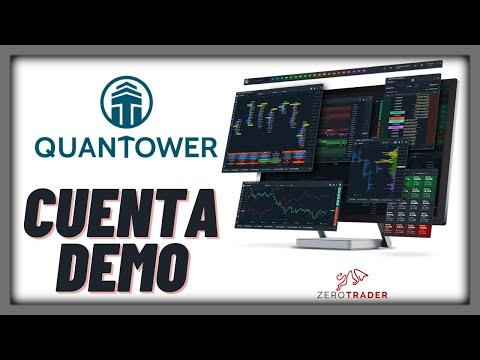 QUANTOWER / Cuenta Demo, plataforma gratis