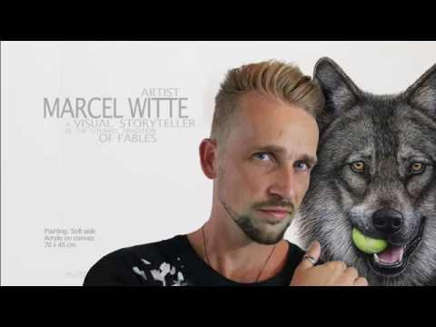 Artist Marcel Witte, a visual storyteller