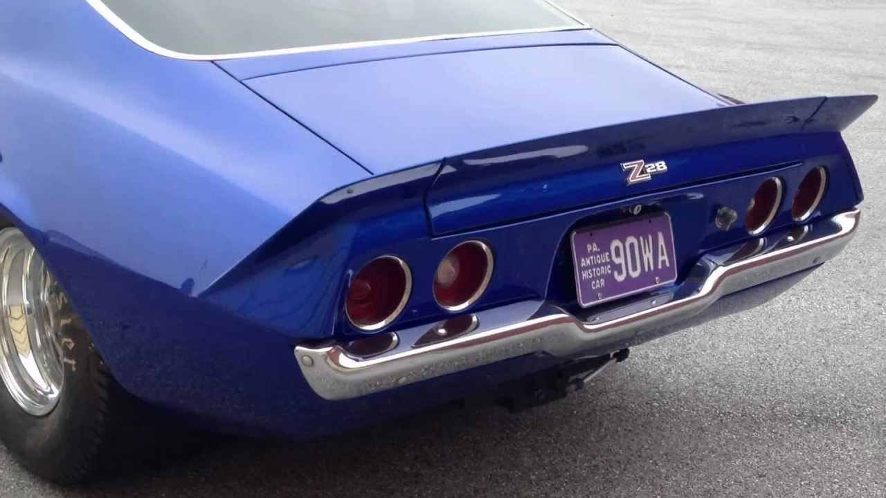 1970 Pro-Street Camaro 427 Big Block Tubbed - YouTube