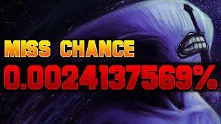 Dota 2 Miss Chance: 0.0024137569%