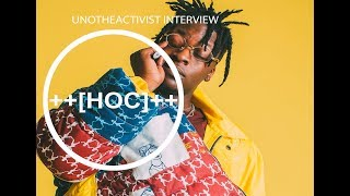 Uno The Activist Interview - LiveShyneDie