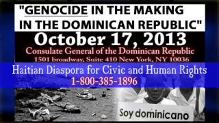 TELE IMAGE - HAITIAN BEING ABUSE IN DOMINICAN REPUBLIC - DIASPORA PROTEST IN OCTOBER 17