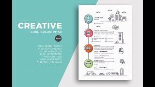 ازاي تعمل CV احترافي باستخدام برنامج الورد فقط! -  Creative CV using Word