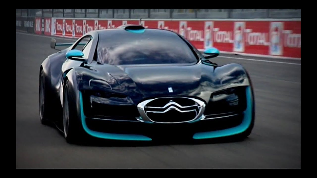 Citroen Survolt at Goodwood Festival of Speed - YouTube