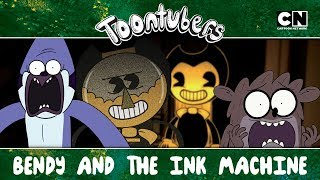 BENSON AND THE INK MACHINE.EXE Toontubers Cartoon Network