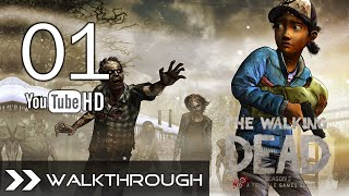 The Walking Dead Season 2 Episode 5: No Going Back - Walkthrough Gameplay - Part 1 (Firefight) HD 1080p Full Game PC PS3 Xbox 360 PS Vita Max Settings No Commentary