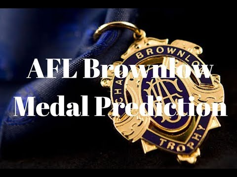 2017 | AFL Brownlow Prediction