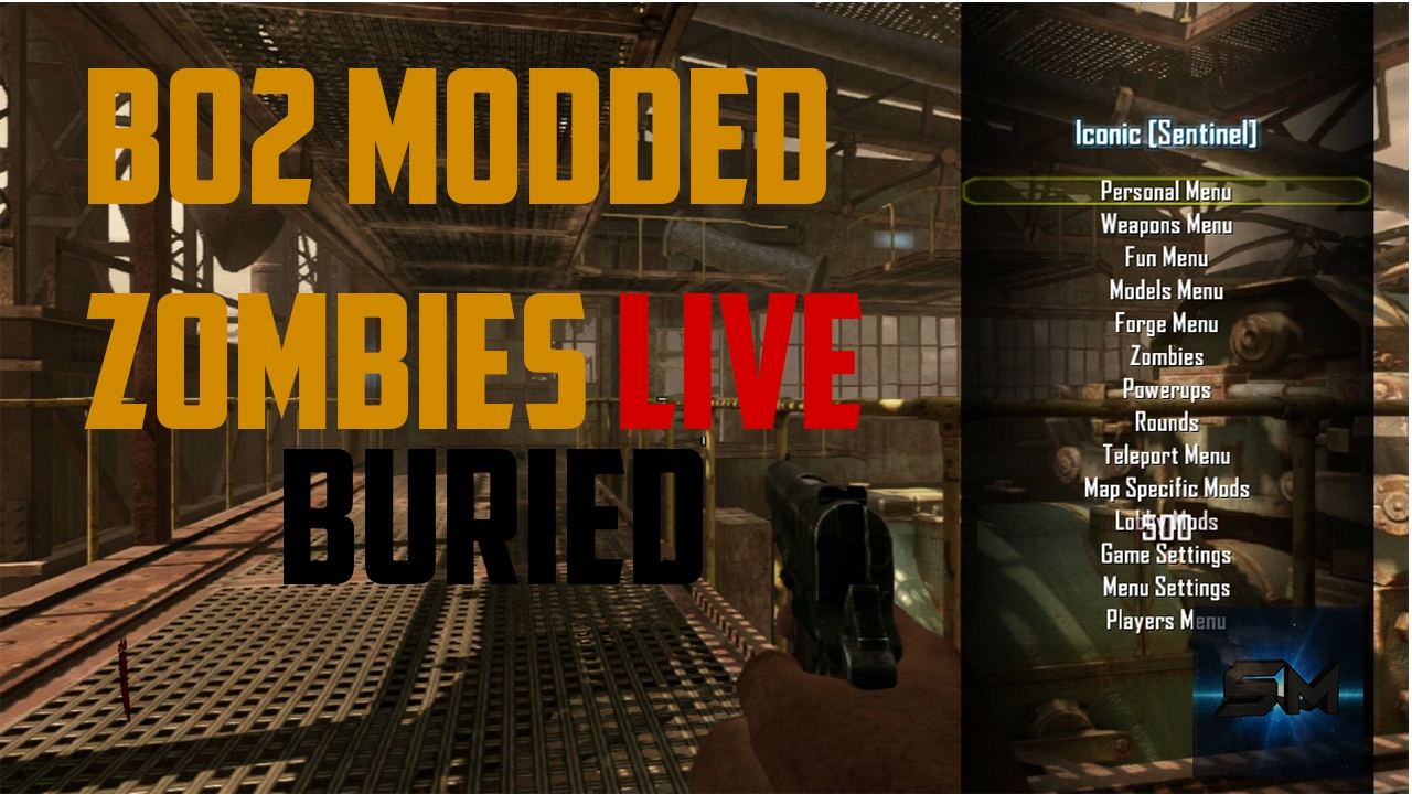 Black Ops 2 Zombies: Modding On Buried PS3 - YouTube