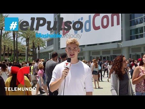 El Pulso | Vidcon y te da los detalles de este evento digital | Telemundo