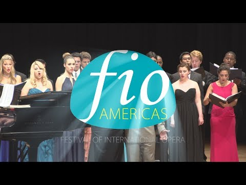 FIO Americas, the Festival of International Opera - young opera singers experience Brazil