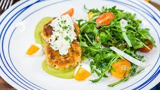 Govind Armstrong – Vegan Crab Cakes With Lemon Aioli - Home & Family