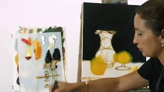 """Мастер-класс от Ольги Базановой - """"Фотореализм"""" по художнику Roy Hodrien"""
