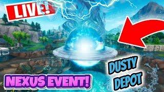 *NEW* LOOT LAKE NEXUS ORB EVENT NOW!.. || Mini Flush || Season X Battle Pass