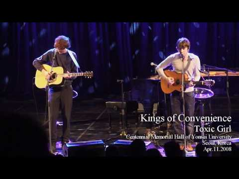 [HD] Kings of Convenience - Toxic Girl, Seoul 2008 Part 6