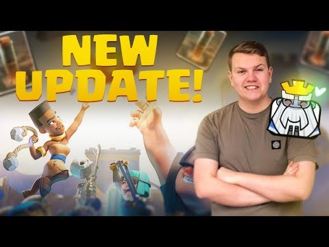 NEW UPDATE! Collecting ALL Rewards, Using Star Points & More! - Clash Royale