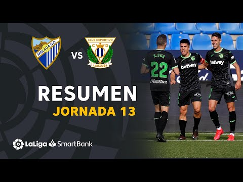 Malaga Leganes Goals And Highlights