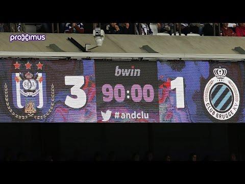 RSC Anderlecht 3-1 Club Brugge KV (25/10/2015)