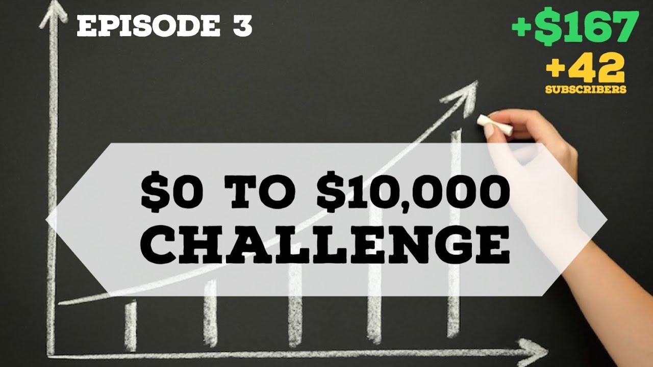Robinhood App $0-$10,000 Challenge Episode 3: BIG STOCK REBOUND, REITs preform poorly