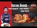 Bacon Bomb mit Spätzle / Kugelgrill Rezept deutsch / Axtschlag Magic Dust Rub