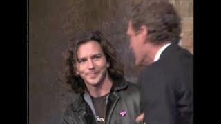 Eddie Vedder's First Appearance History on Letterman, Jan.-Feb. 1996
