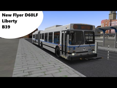 OMSI 2 - Liberty - Route B39 - New Flyer D60LF