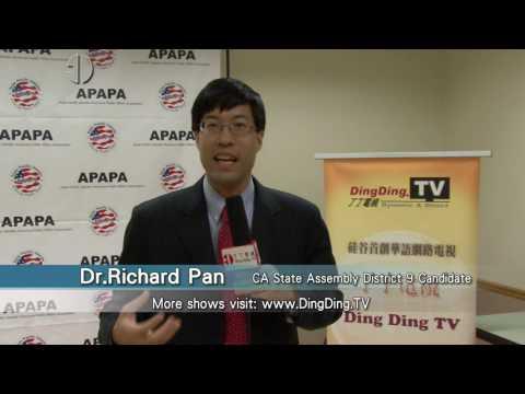 APAPA-11th Annual Voters Education & Candidates Forum-Richard Pan