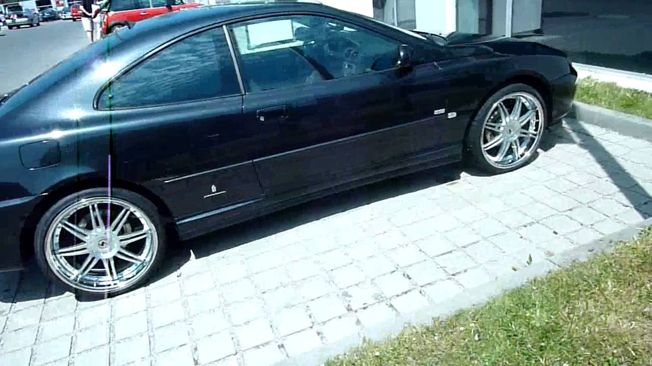 tuning black peugeot 406 coupe with 20 inch rims ultima. Black Bedroom Furniture Sets. Home Design Ideas