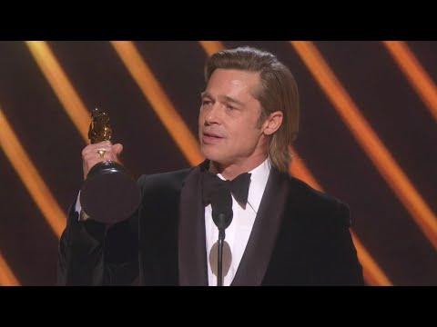 Watch Brad Pitt Thank His Kids During 2020 Oscars Speech