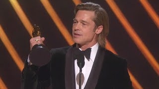 Watch Brad Pitt Thank His Kids During 2020 Oscars Speech