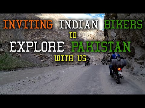 PAKISTAN TO INDIA ROAD VIA KARGIL || RAINBOW RIVER || KHAMUSH WATERFALL  || VLOG || GOPRO || MOHSIN