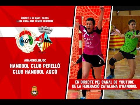 H.C. Perelló - Handbol Ascó | Lliga Catalana Sènior Femenina
