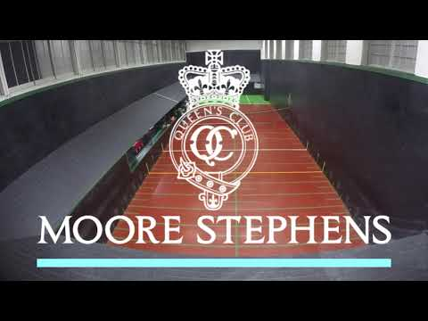Real Tennis World Championship 2018 Final, Day 1