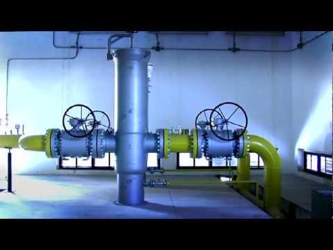 Cabina di decompressione e misura del gas metano di for Cabina del biscotto di marthastewart com