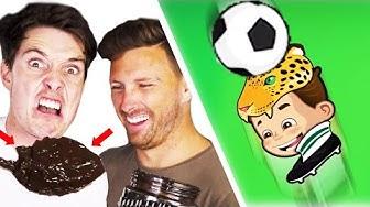 LOSER EATS VEGESH*TE! - Online Headball Challenge
