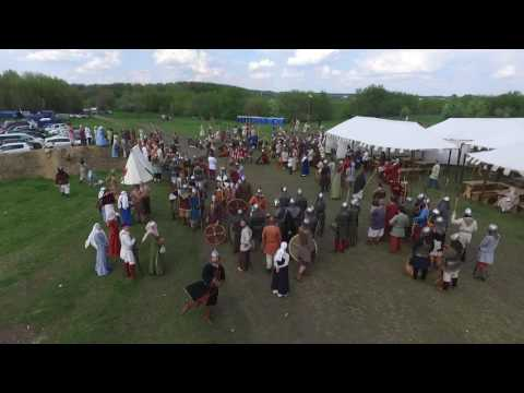 Maz - This Is What Happens When A Drone Goes To A Medieval Fair